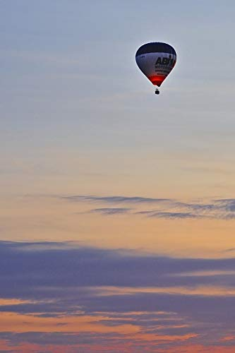 Home Comforts Framed Art for Your Wall Ball Hot-air Ballooning Sky Vivid Imagery 10 x 13 Frame
