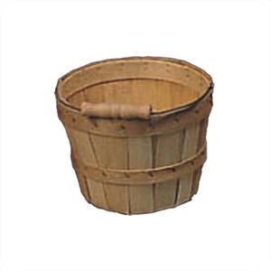 1/4 Peck Basket with Bail Handle by Retail Resource