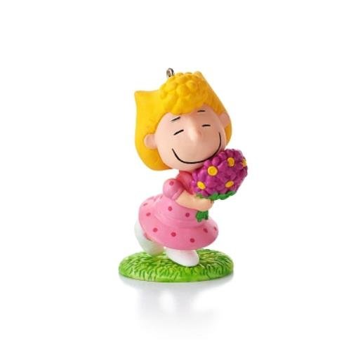 1 X Sallys Spring Bouquet #10 Series 2013 Hallmark Ornament