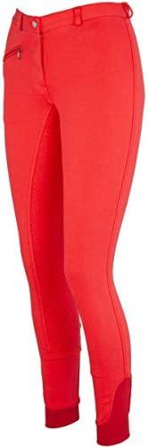HKM by Reiterladen24 Pantalon d/équitation pour Femme Silicone Peau int/égral Basic Line Noir