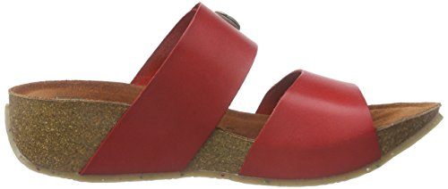 Dr. Brinkmann 700920 - Mules Mujer Rojo - rojo (rojo)