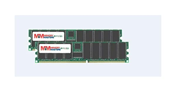 New Low Density 2GB KIT 2x1GB PC3200 DDR400 Dual Channel 184pin DIMM Memory DDR1