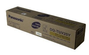 NEW Panasonic OEM DQTUV20Y TONER CARTRIDGE (YELLOW) For DPC265 (Toner/Cartridges) by Panasonic