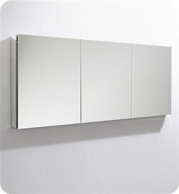 Mirror Cabinet Medicine Flat Frameless (Fresca 60