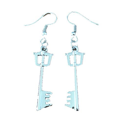 Blue Heron Kingdom Hearts Keyblade Dangle Earrings w/Gift Box