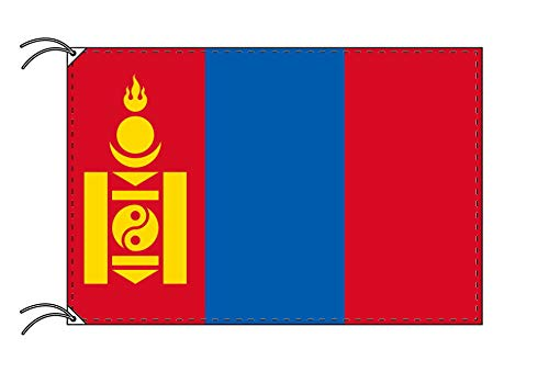 世界の国旗 モンゴル 国旗 [120×180cm 高級テトロン製]   B009101QLC