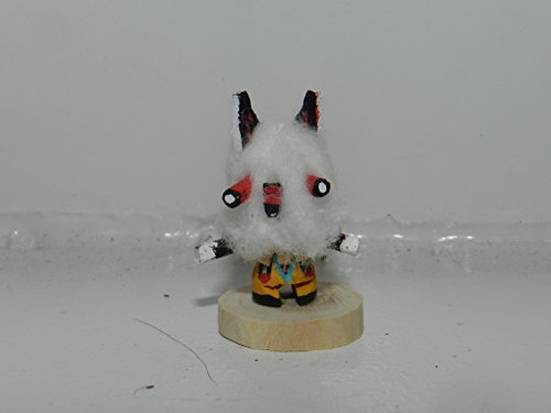Miniature Masked Wolf Kachina Wolf Kachina