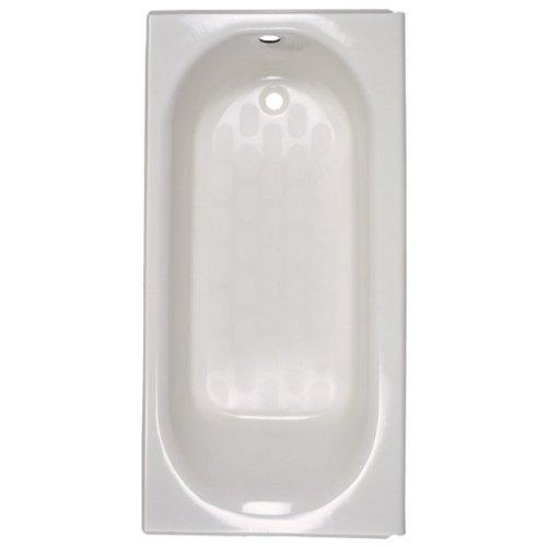 - American Standard 2392.202ICHTC.020 Princeton Americast Left-Hand Drain Bathtub, White