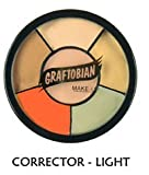 Graftobian Make-Up Co. Light Tattoo Cover Up Makeup Wheel Standard