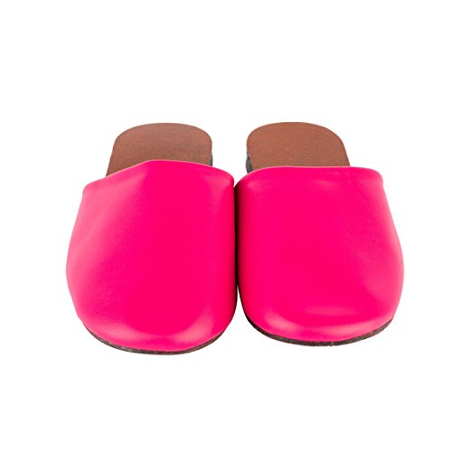 rouge w pour femme Chaussons rose Tb002 Haisum UqwCY