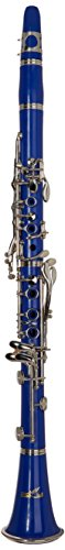 SKY Blue ABS Bb Clarinet with Case, Mouthpiece, 11 Reeds, Care kit and more by Sky
