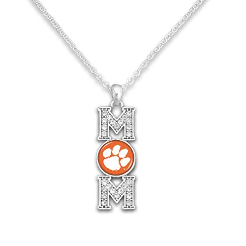 Paw Tigers Pendant Heart Clemson (FTH Clemson Tigers 18