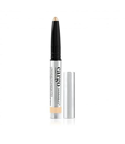 Cargo Cosmetics - Swimmables Longwear eyeshadow stick, Water Resistant, Budgeproof, Smudge-Proof, Transfer-Proof, Crease-Proof, Glacier Bay