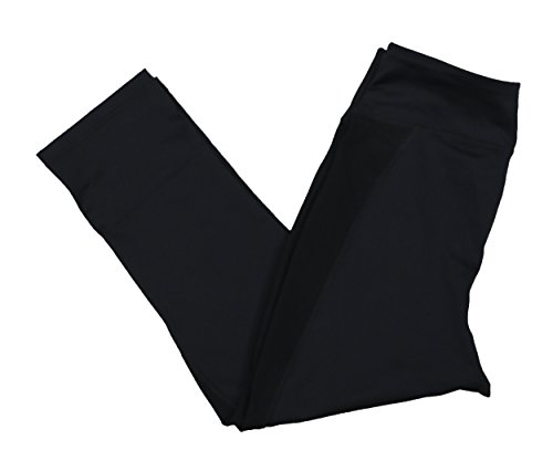 Ideology Women's Slimming Cropped Athletic Leggings (Black, M) from Ideology