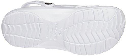 Suecos Unisex-Erwachsene Loki Arbeitsclogs Weiß (White)