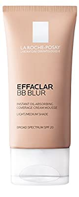 La Roche-Posay Effaclar BB Blur Instant Oil-Absorbing Coverage BB Cream, 1 Fluid Ounce