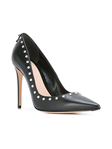 Alexander Leather 470571WHMU01000 Women's McQueen Black Pumps qrq1O7f