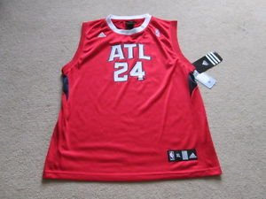 Atlanta Faucons Maillot de Basketball NBA #24-Williams Junior XL/homme S Owc