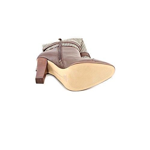 Tommy Hilfiger Frauen Frita Spitzenschuhe Leder Fashion Stiefel Brown Multi/Iroko