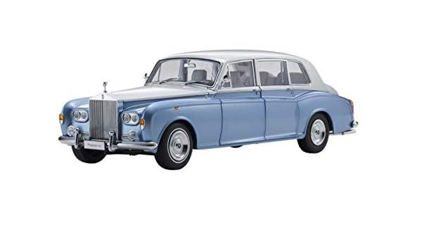 Amazon.com: Rolls Royce Phantom VI Light Blue with Silver Top 1/18 Diecast Model Car by Kyosho 08905 LBS: Toys & Games