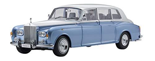 Kyosho Rolls Royce Phantom VI Light Blue with Silver Top 1/18 Diecast Model Car