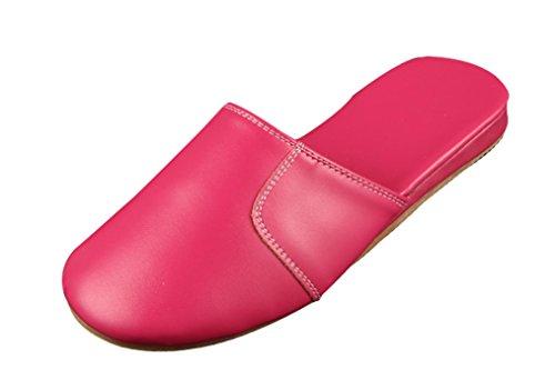 Pantofole Da Donna Cattior Solide Comode Pantofole Da Donna Rosa-rosso
