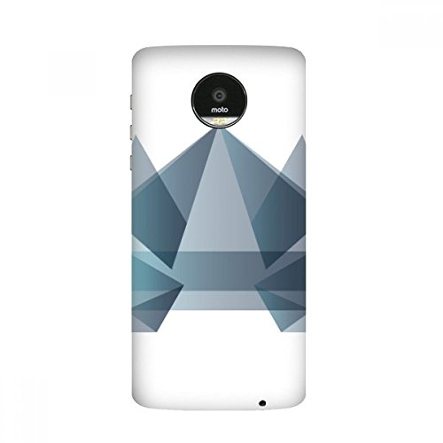 Origami Abstract Frog Geometric Shape Moto Z / Z Force / Z2 Magnetic Mods Custom-made Phonecase DIY Moto Style Shell (Origami Frog)