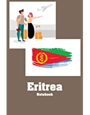 Eritrea Notebook: Notebook Journal  Diary/ Lined - Size 6x9 Inches 100 Pages