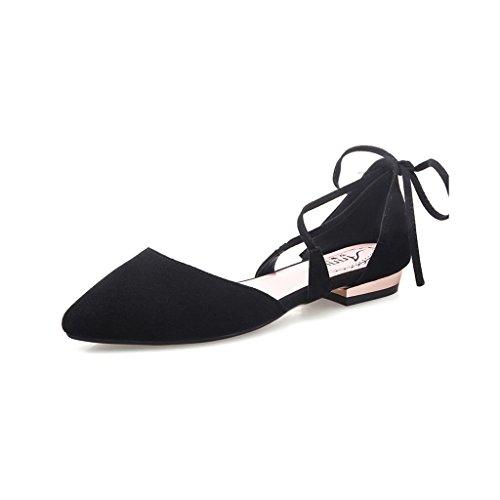 Mujeres y Zapatos Poco Fiesta Las De Sunny Acogedor Colores Boca Tacones Puros C Profunda Altos Plano Cita 4BnExqn0