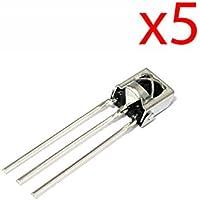 5X Diodo Receptor Infrarrojos TL1838 3 Pines