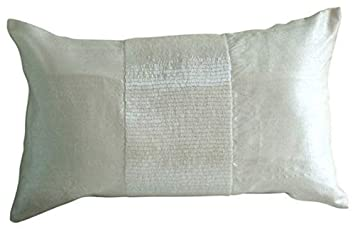 White Lotus Home OBWWSP02 100 Buckwheat and Wool Buckwool Sleep Pillow with Organic Twill Outer Casing 20 x 26 Standard , 20×26, Natural