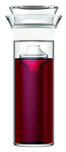 Savino Wine Preserver- Keeps Red and White Wine Fresh for Up to 7 Days, BPA Free, Dishwasher Safe and can hold 750 mL of your favorite wine