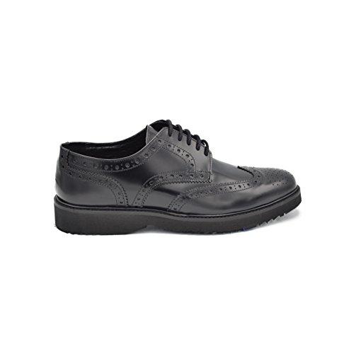 drudd  Bristolabraaw1701,  Herren Derby-Schuhe Schwarz