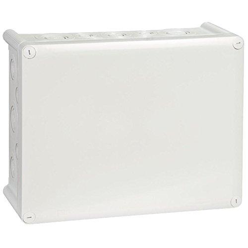 Legrand LEG92064 Boîte rectangle étanche Plexo entrée défonçable IP55/IK07 Gris