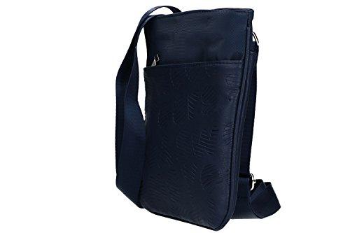 YEARS azul Bandolera plana bandolier bolsa SWEET VF407 hombre wtwSH
