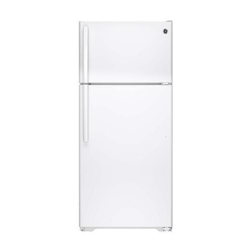 GE GTS16DTHWW 15.5 Cu. Ft. White Top Freezer Refrigerator – Energy Star – Right Hinge