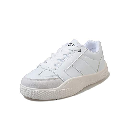 Negro Zapatos Black Spring Rojo Sneakers ZHZNVX Flat Heel Mujer Comfort PU de Blanco Summer Poliuretano amp; fUUOZxqw