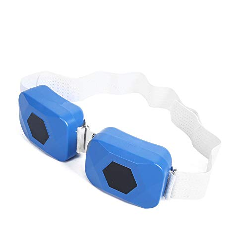Elektrische afslankgordel, blauw USB Portable Abdominal Muscle Toning Belt Spierstimulatie Tailleband voor mannen en…
