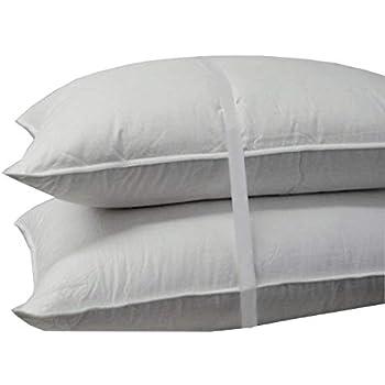 Amazon Com Luxuredown White Goose Down Pillow Medium