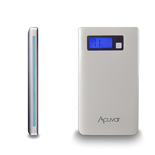 Acuvar Power Bank 7000mAh Portable Charger With LED Batte...