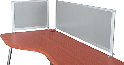 "Balt iFlex Desktop Privacy Panels, Half Length, 17""H x 21 1/2""W x 1""D (90063)"