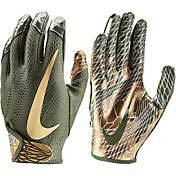 - Nike Youth Vapor Jet 5.0 Football Gloves (Olive/Olive/Metallic Gold, Large)