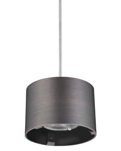 Lithonia Lighting MDPC BZ M6 Cylinder LED Mini-Pendant Fitter, ()