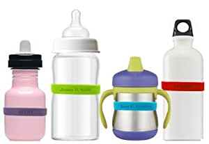 babaLABELS Personalized Reusable Baby Bottle Labels
