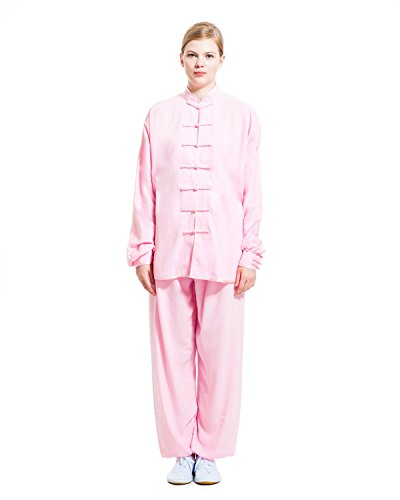 ICNBUYS-Womens-Tai-Chi-Uniform-Cotton-Silk