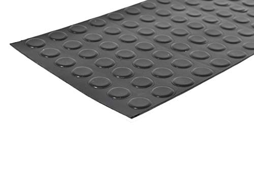 Round Self-Adhesive Rubber Bumper Feet, Stops, and Spacers .750
