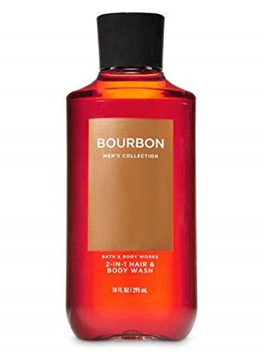 Bath & Body Works Bourbon Men's 2-IN-1 Hair & Body Wash 10 Oz. (Best Bourbon Under 20)