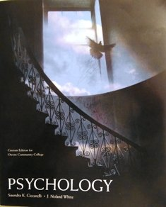 Psychology 3rd Edition - Pearson - Custom Edition for Owens Community College - Ciccarelli & White