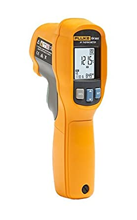 Fluke 64 Max Infrared Thermometer, Multi-Functional, -22 to 1112 °F