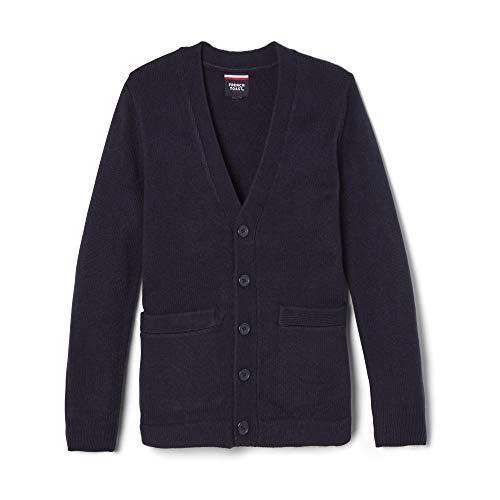 Kids V-neck Cardigan Sweater - French Toast Little Boys' V-Neck Anti-Pill Cardigan, Navy, 4T